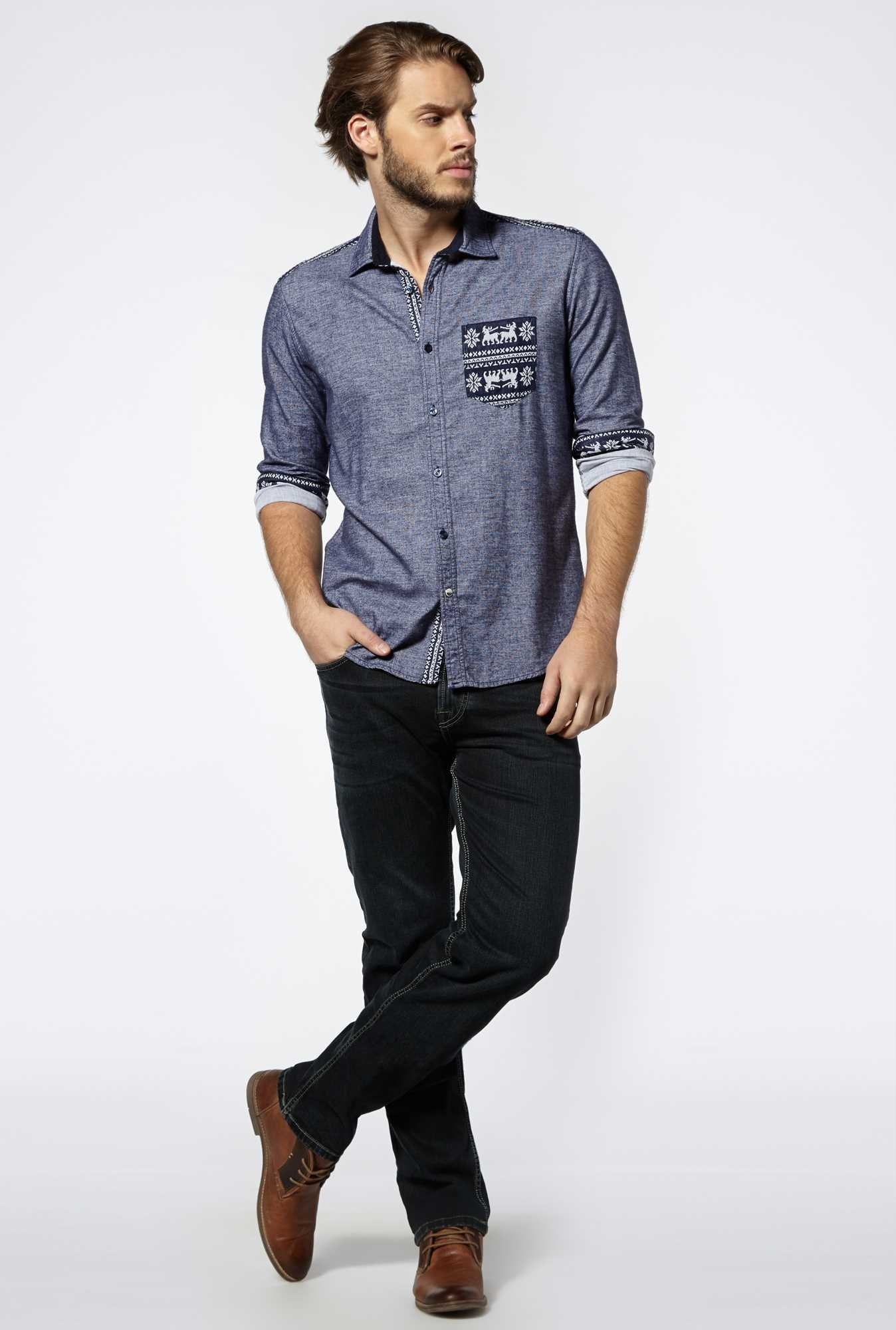Killer Navy Carlton Shirt