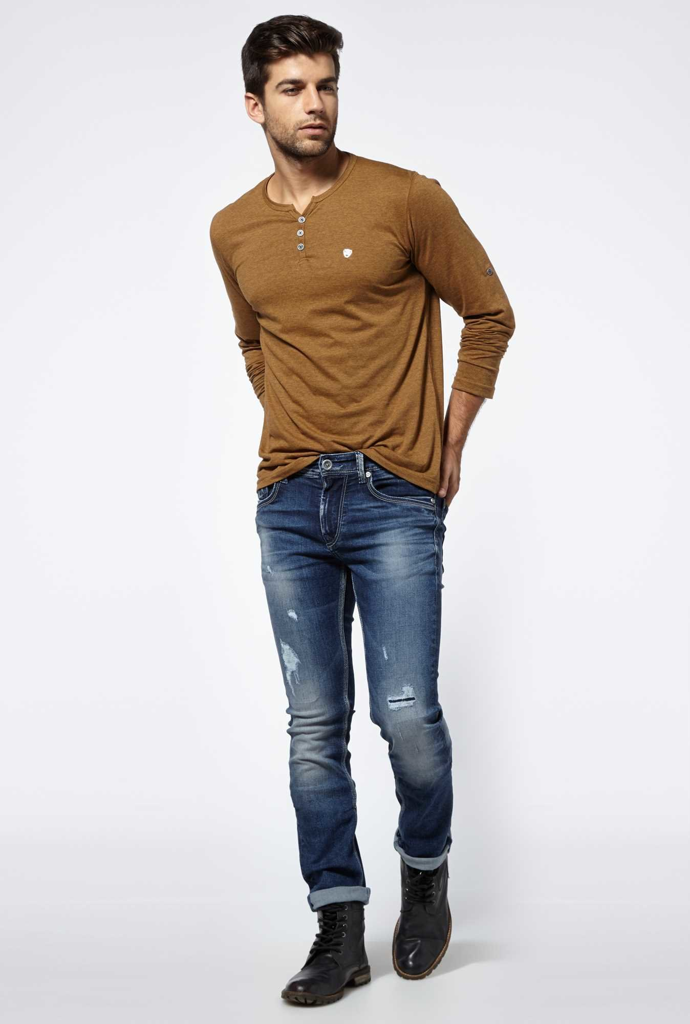 Killer Brown Long Sleeved T-shirt