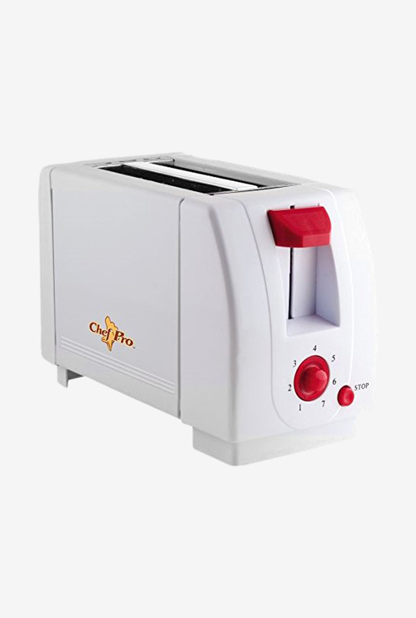 Chef Pro CPT540 2 Slice Pop-Up Toaster (White)