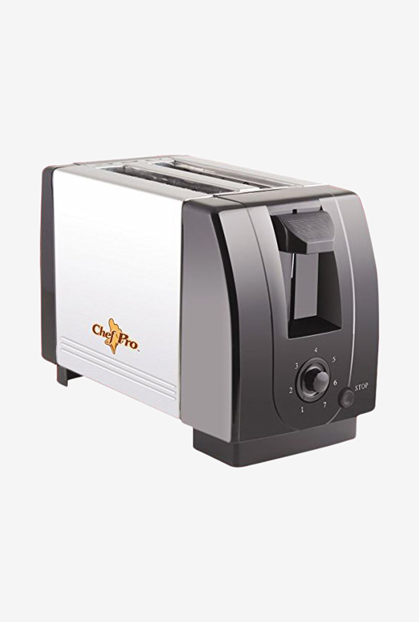 Chef Pro CPT541 2 Slice Pop-Up Toaster (Black)