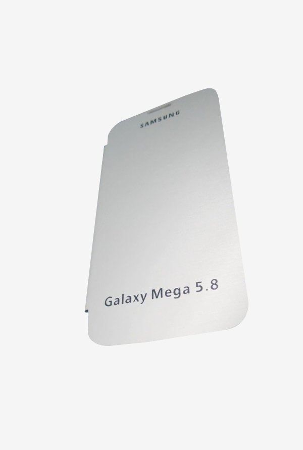 ContiStar Galaxy Mega 5.8 Mobile Flip Cover White