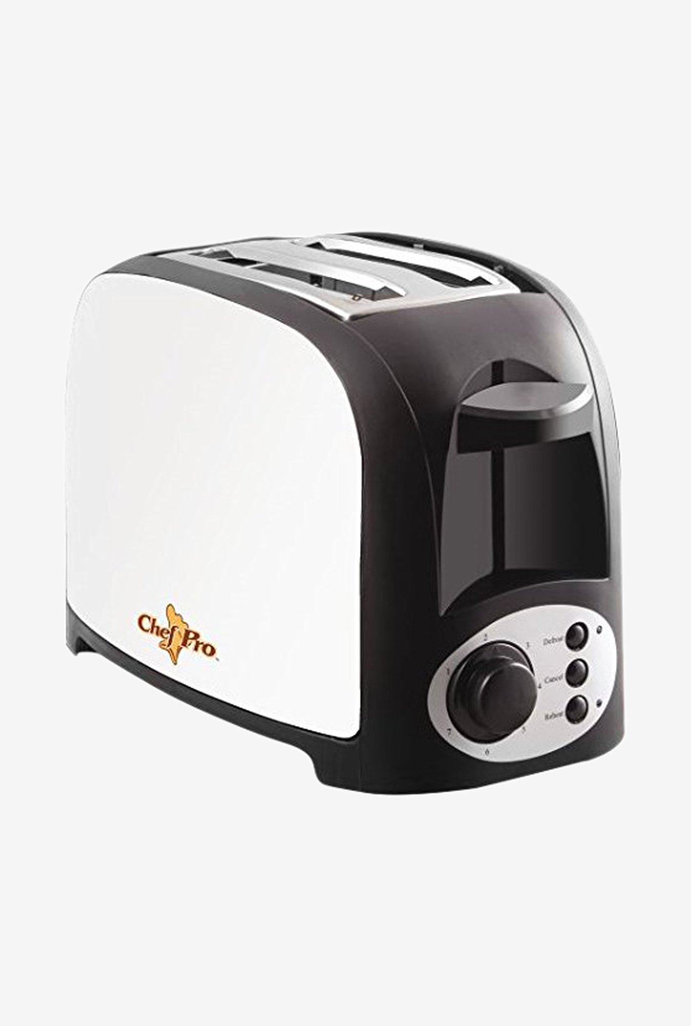 Chef Pro CPT542 2 Slice Pop-Up Toaster (White)