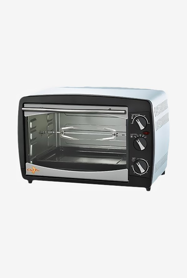 Chef Pro OTR528 28 Litres Oven Toaster Griller (Silver)