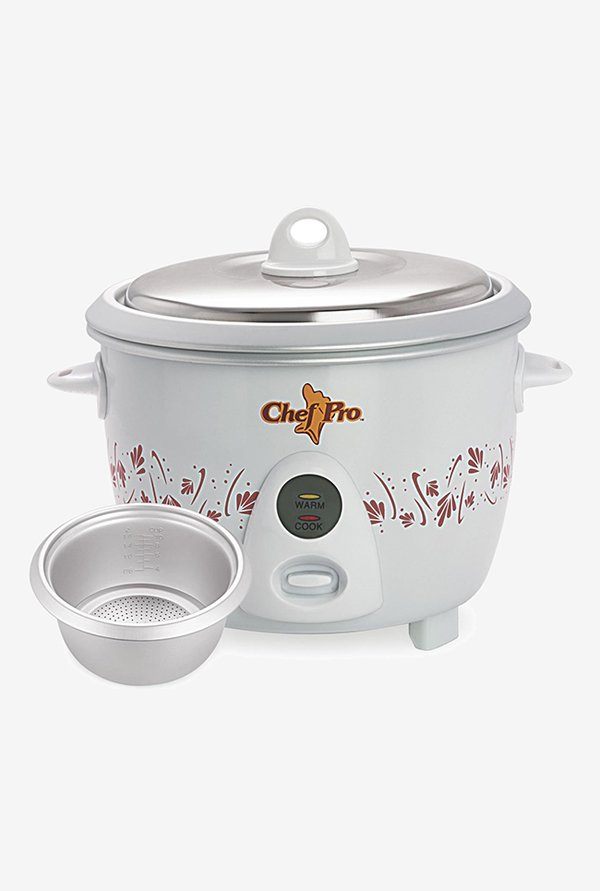 Chef Pro CPR910 1.8L Automatic Shut-Off Rice Cooker (White)