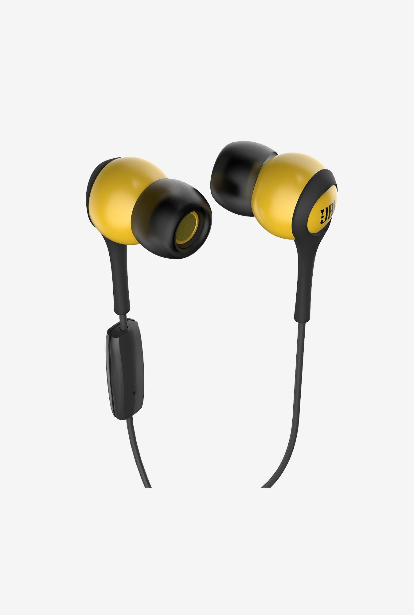 JBL T200A In the Ear Headphone Yellow