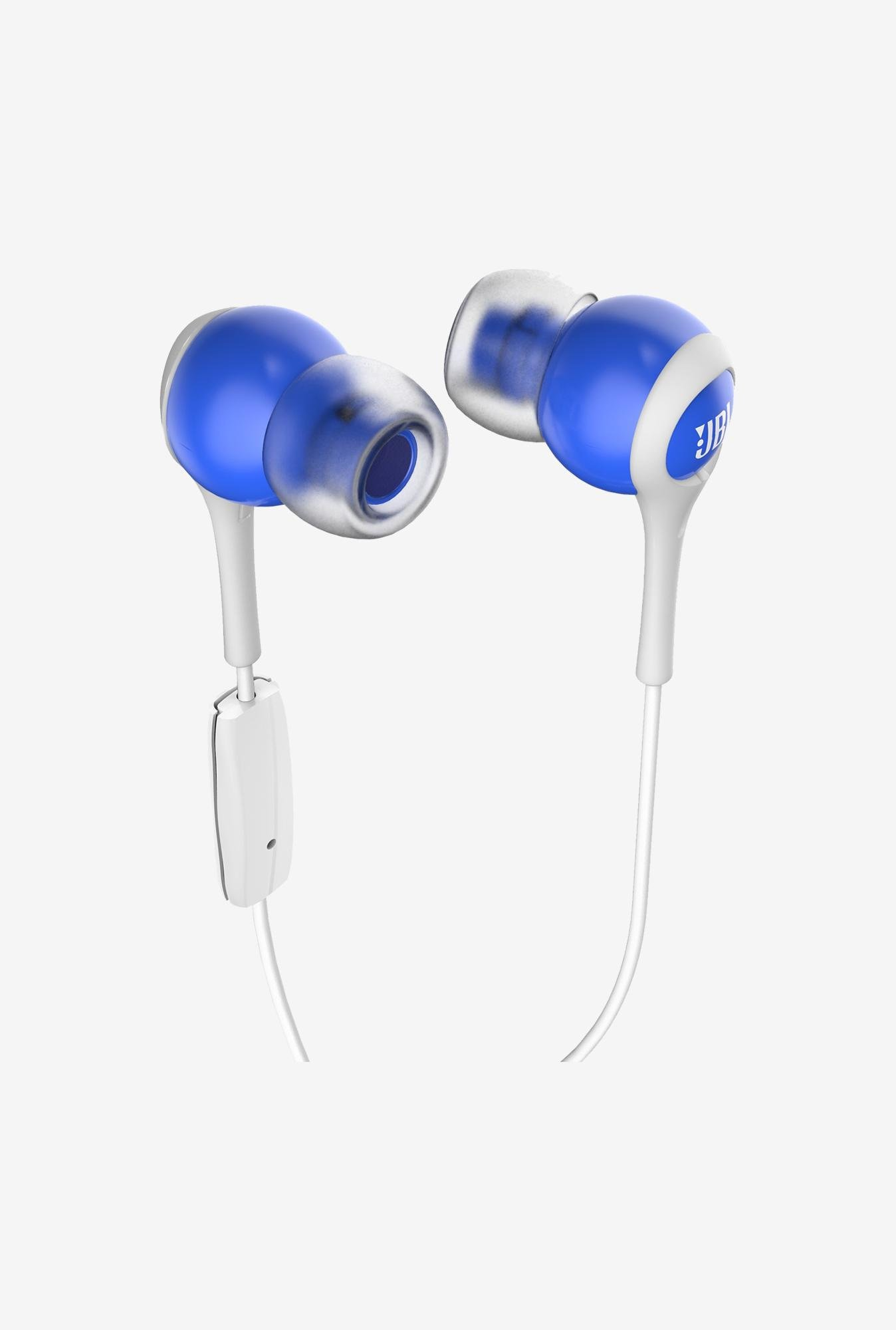 JBL T200A In the Ear Headphone Blue