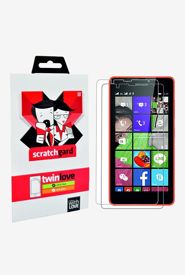 ScratchGard Twin Pack Screen Protector