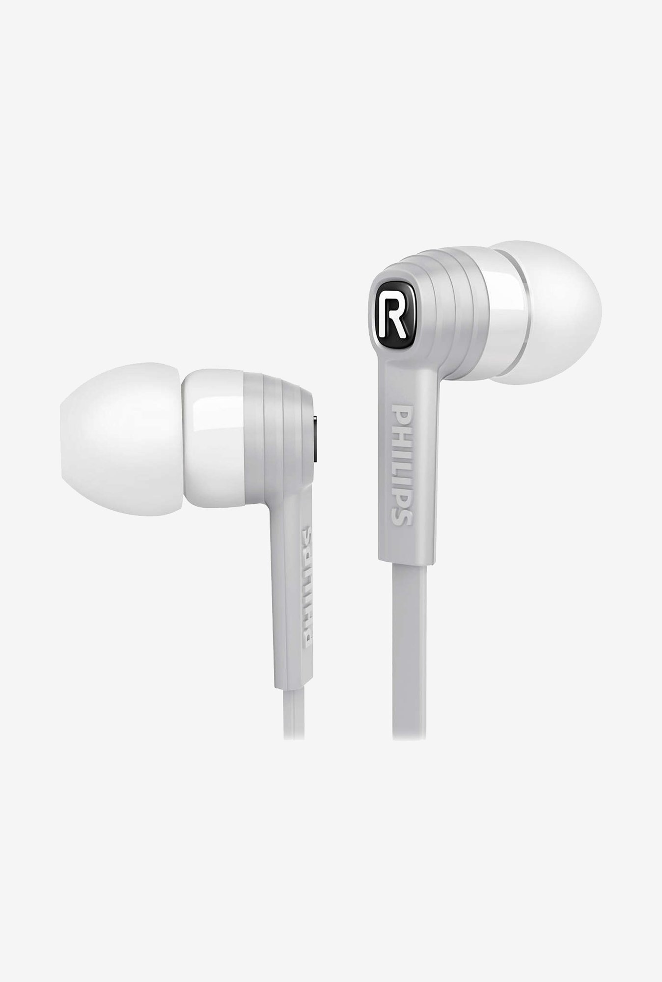 Philips CitiScape SHE7050WT/00 In the Ear Headphones (White)