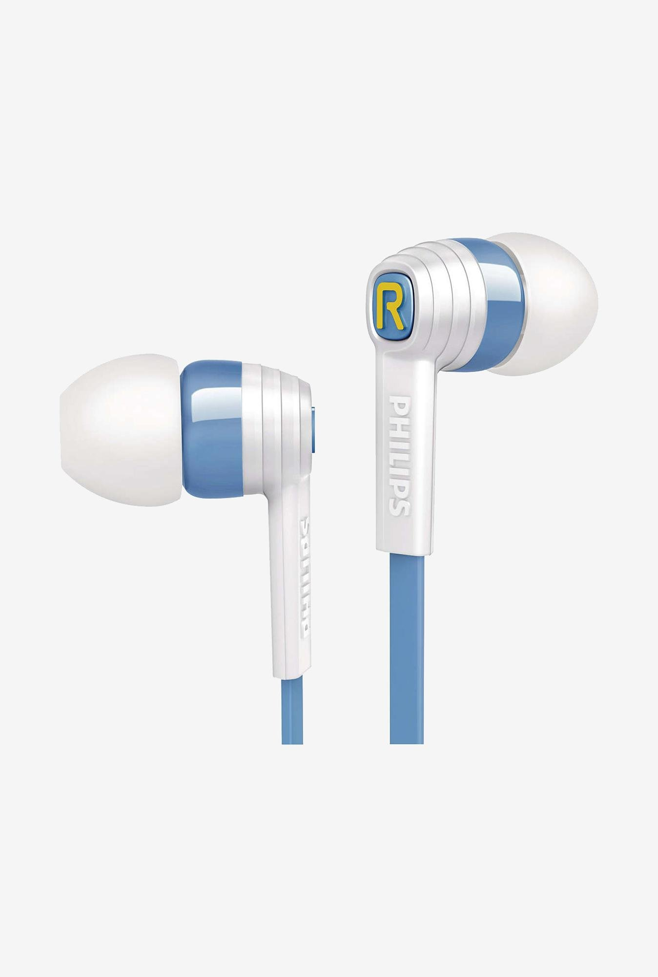 Philips CitiScape SHE7055AR/00 Headphone White & Blue
