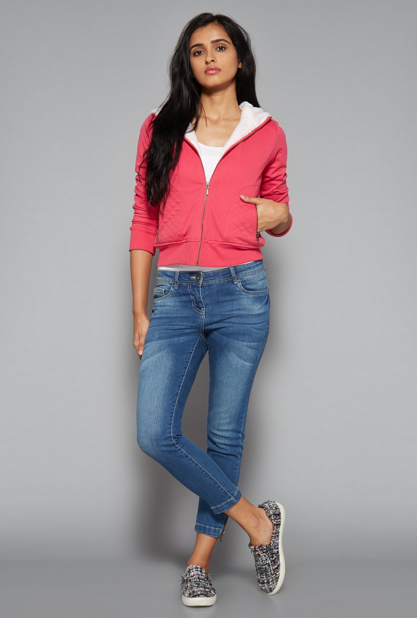 Nuon by Westside Pink Salma Sweater