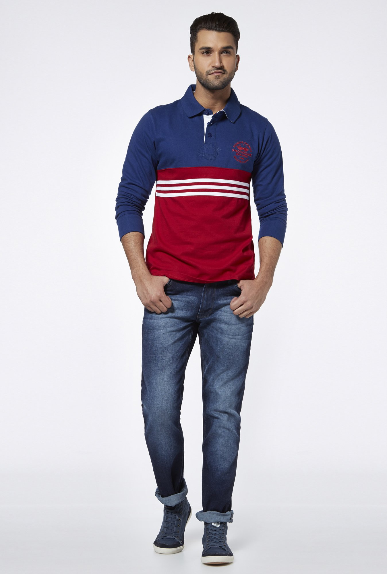 Provogue Cobalt Polo T Shirt