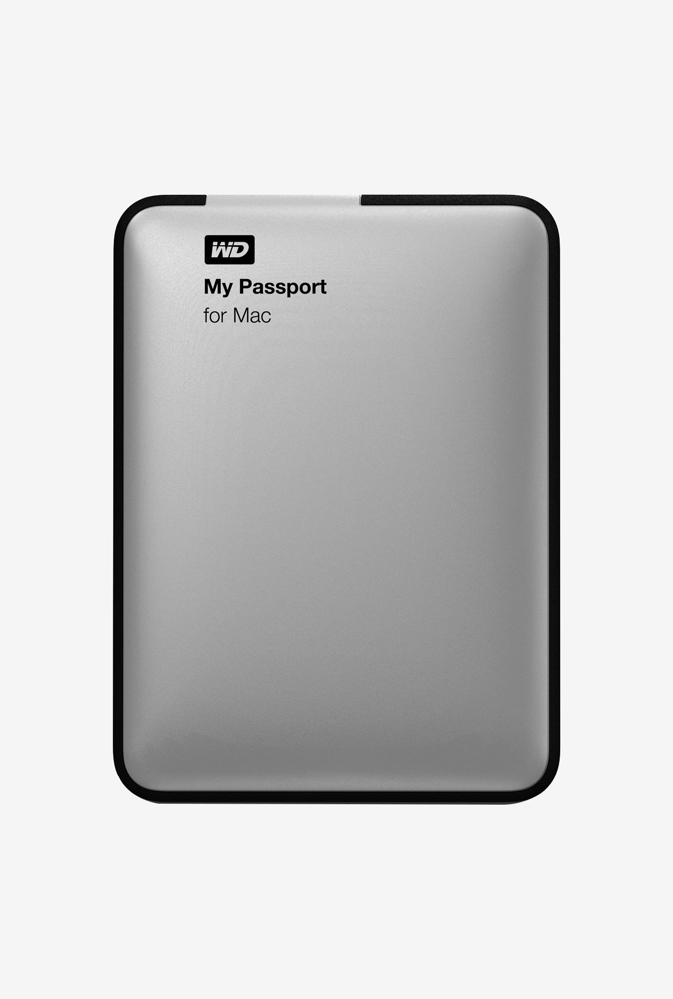 WD My Passport 1 TB Hard Disk for Mac (Silver)