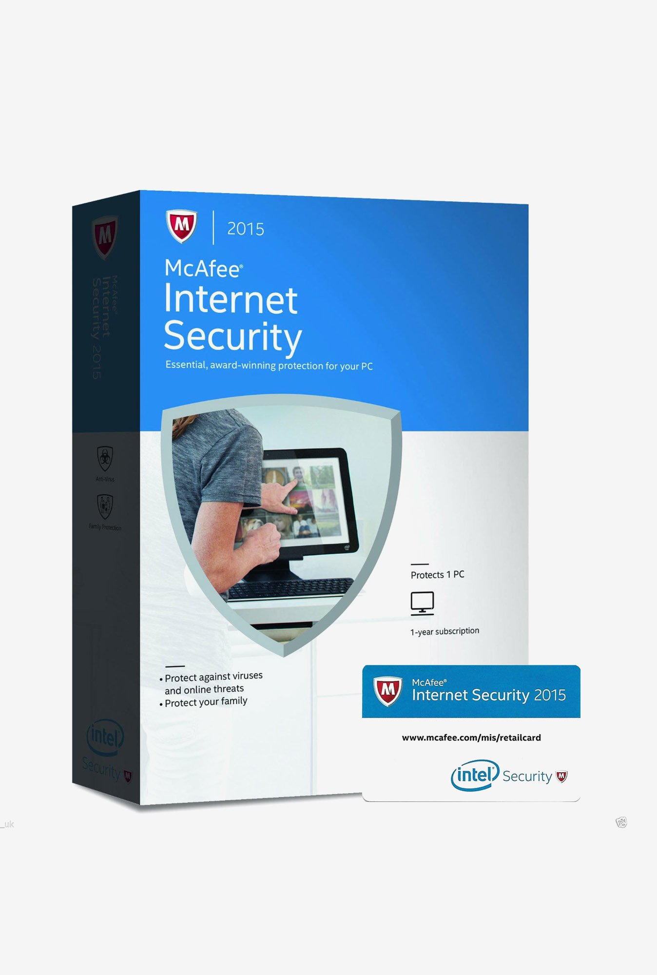 McAfee Internet Security Software Single User