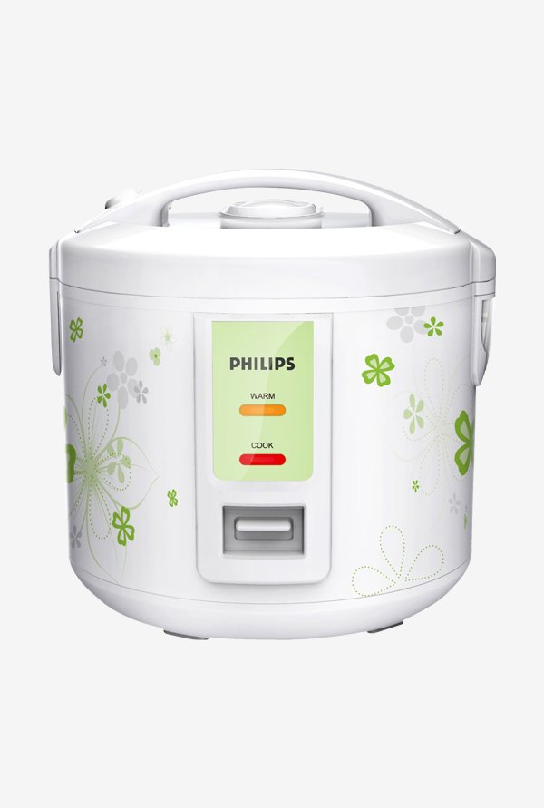 Philips HD3017/08 1.8L 650W Electric Rice Cooker (White)