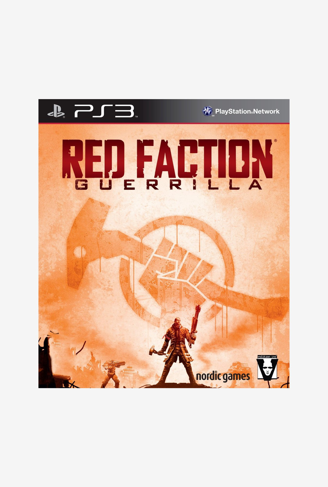 PS3 Red Faction Guerrilla Game