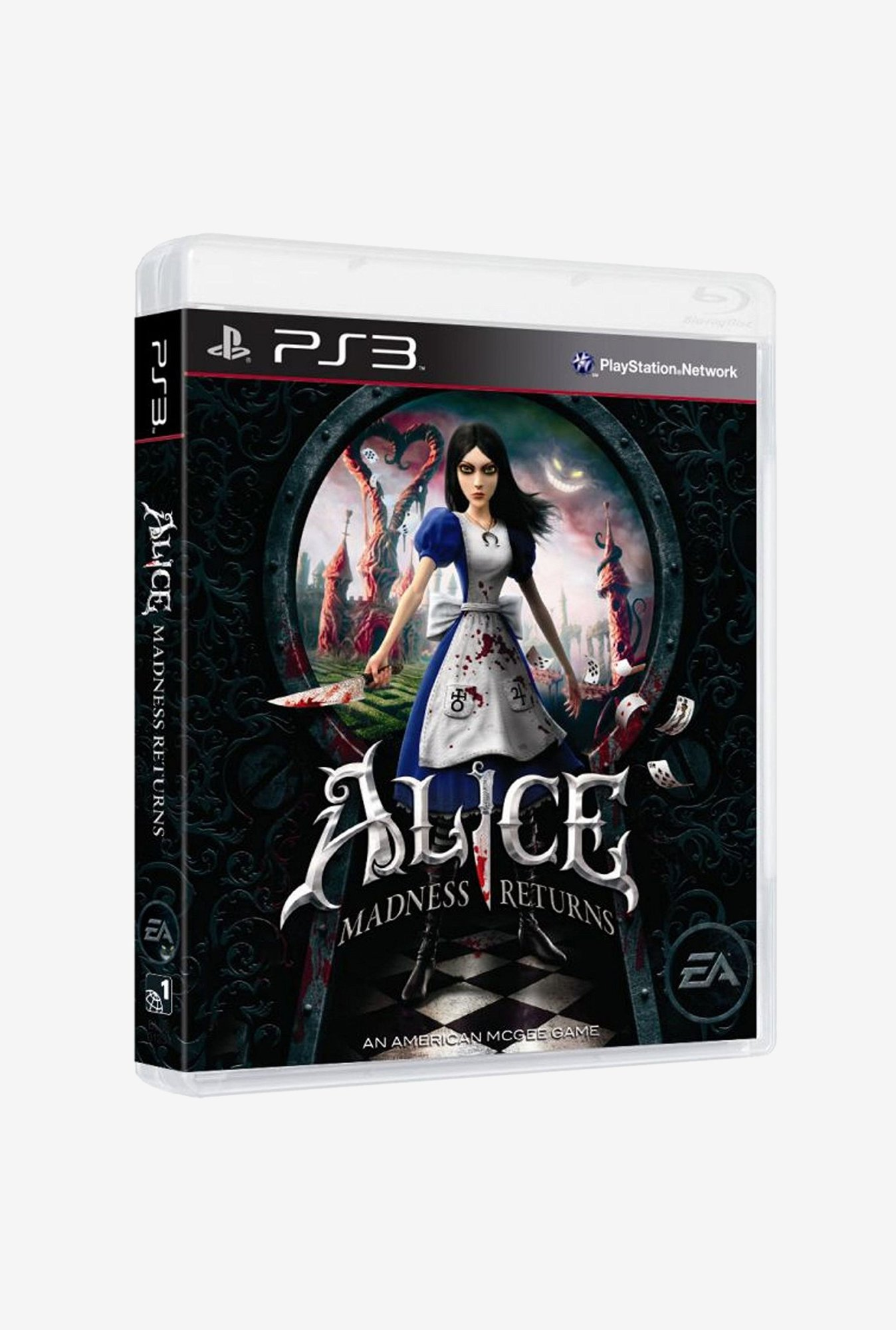 PS3 Alice Madness Returns Game