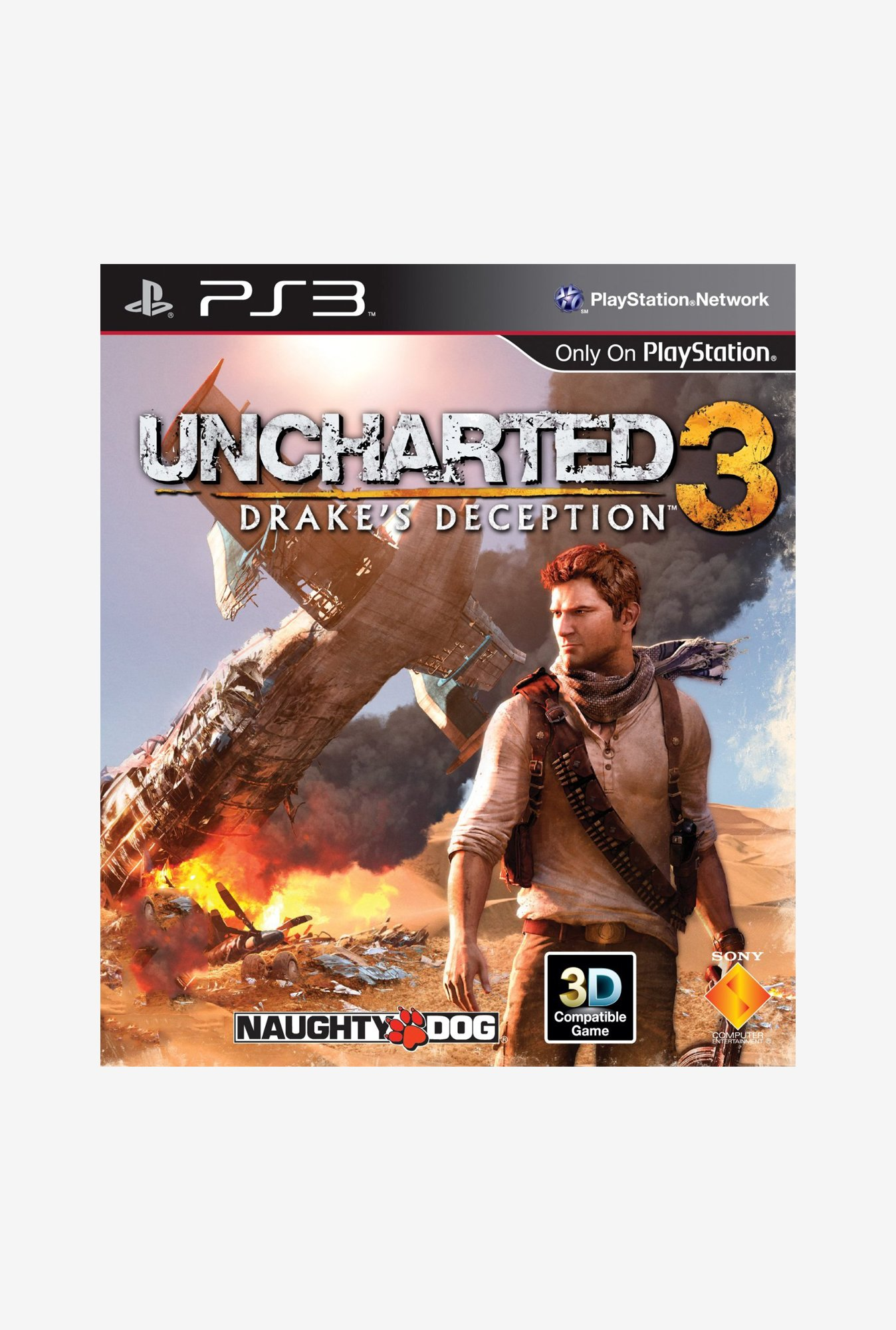 PS3 Uncharted 3: Drake's Deception Game