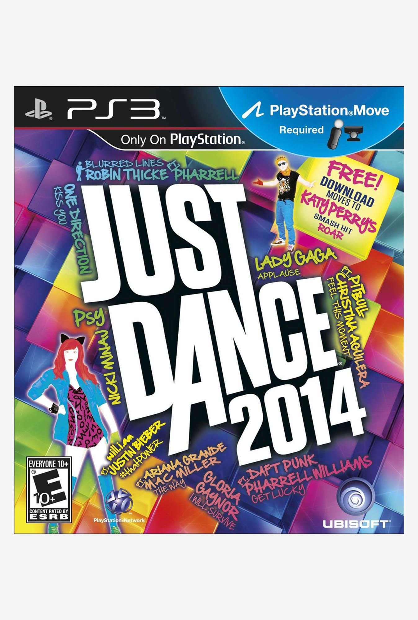 PS3 Just Dance 2014 Game