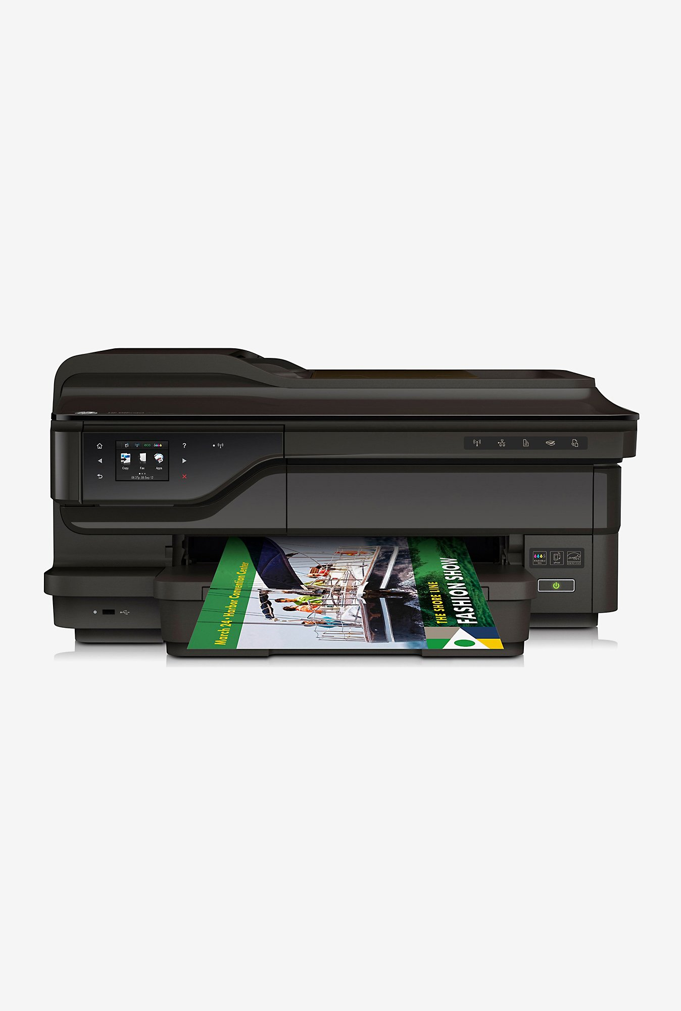 HP OfficeJet 7612 All In One Laser Printer (Black)
