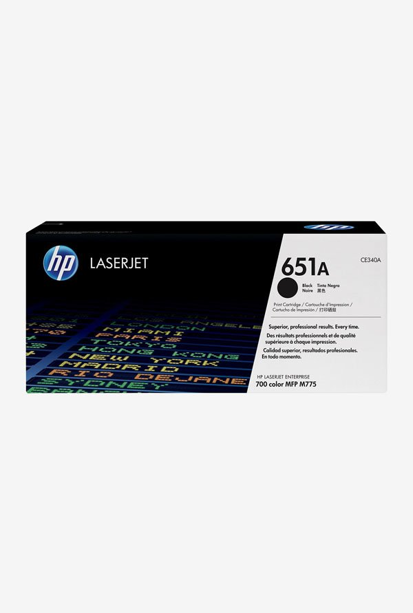 HP 651A LaserJet CE340A Toner Cartridge Black