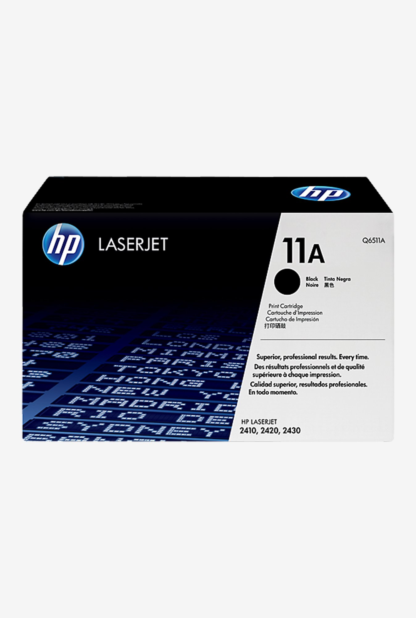 HP 11A LaserJet Q6511A Toner Cartridge Black