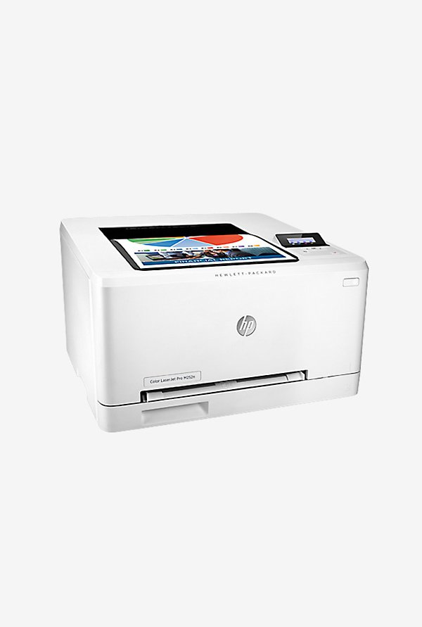 HP LaserJet Pro M252n Laser Printer (White)