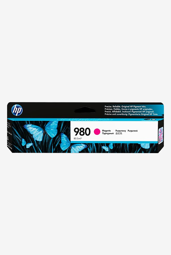 HP 980 D8J08A Ink Cartridge Magenta