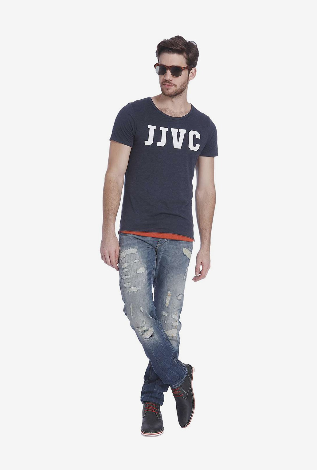 Jack & Jones Navy T Shirt