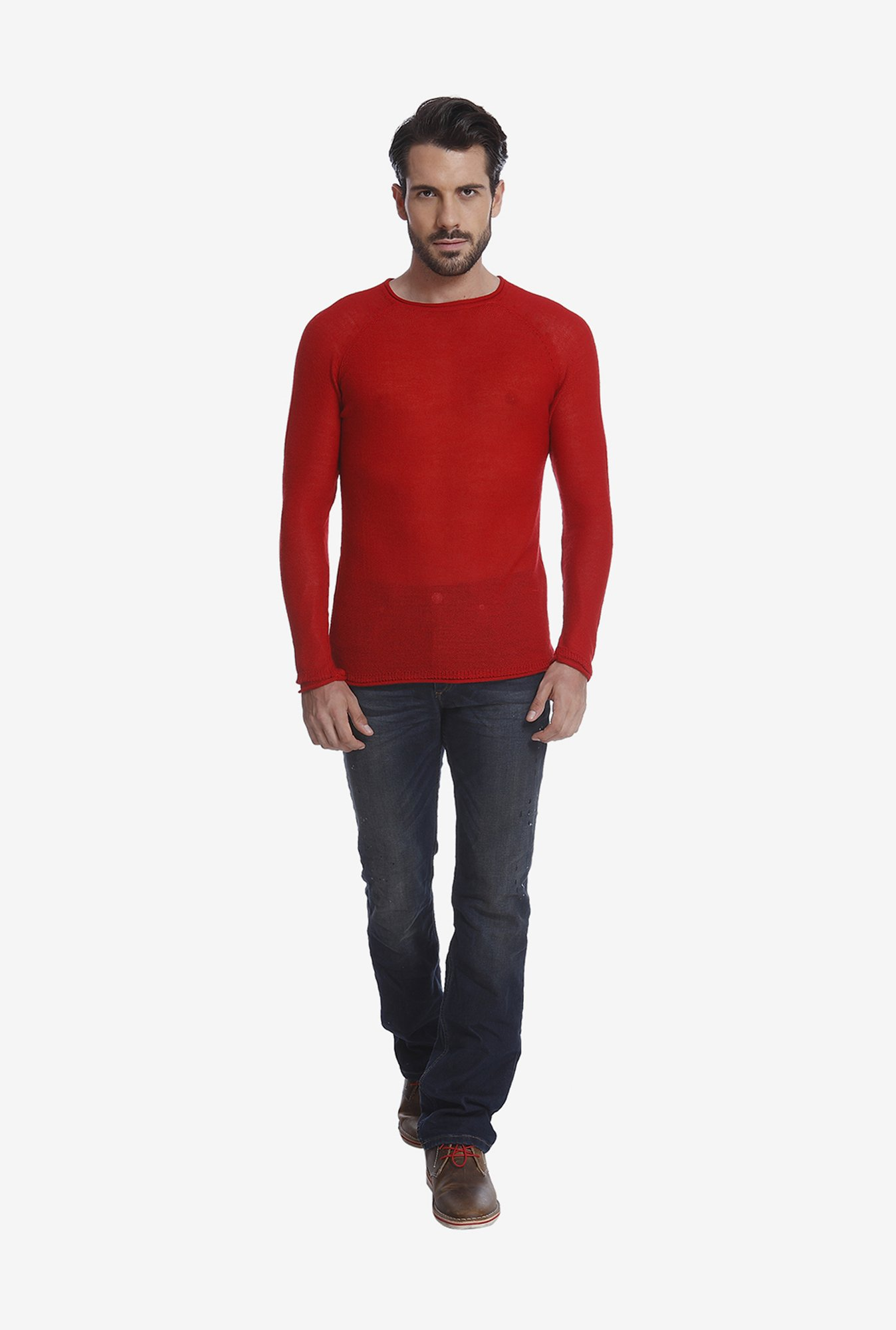 Jack & Jones Red T Shirt