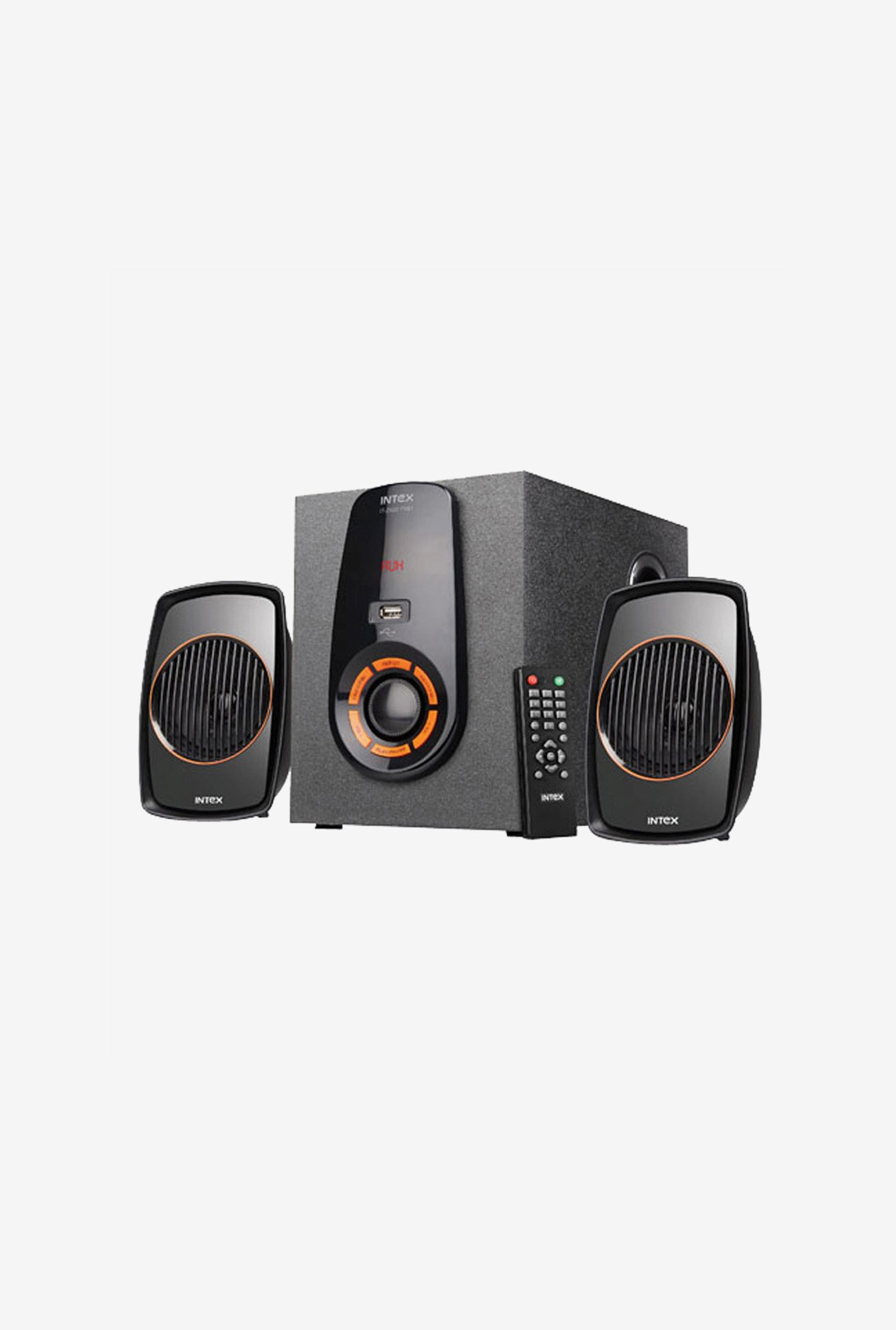 Intex IT-2500 FMU Multimedia Speaker Black