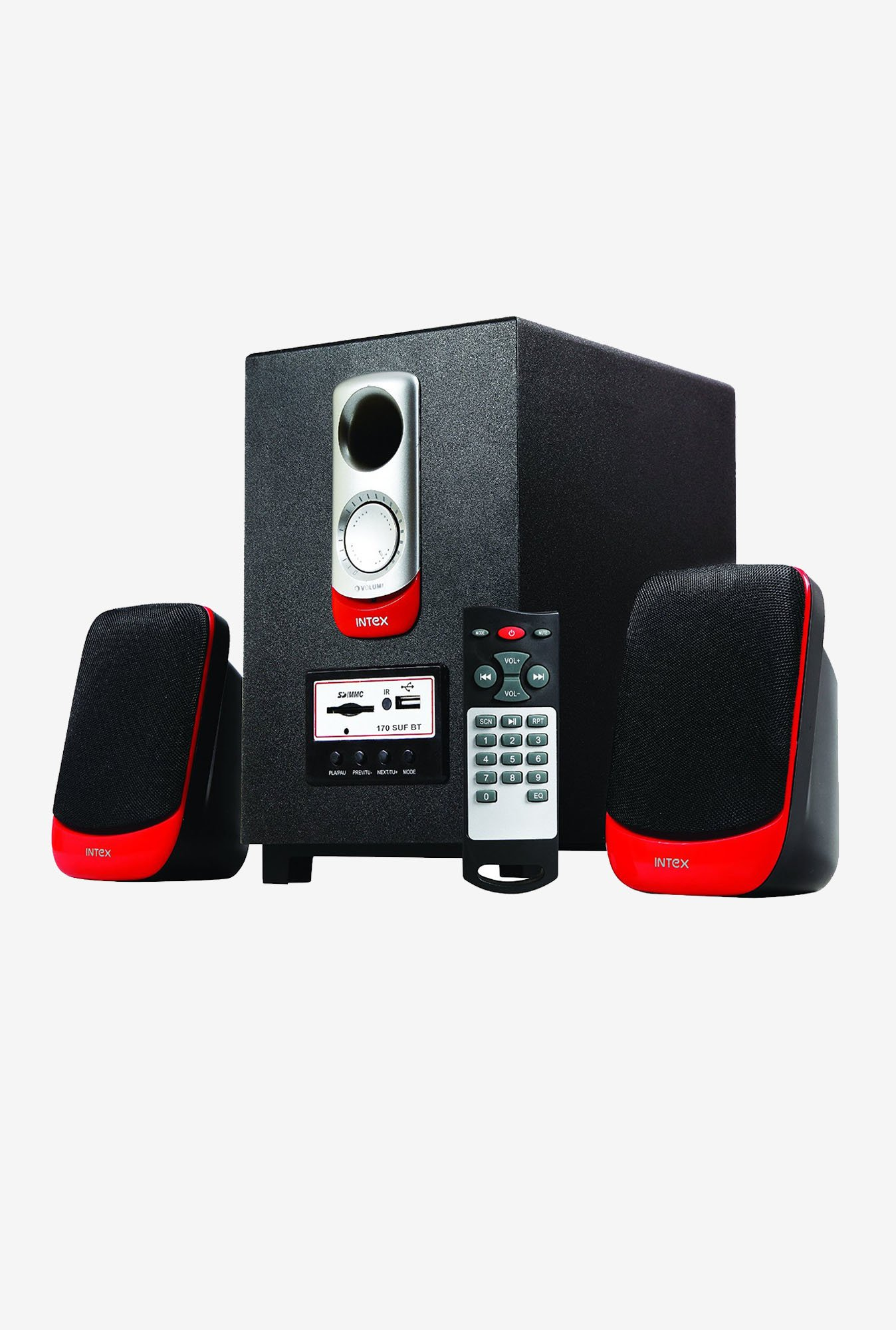 Intex IT-170 SUF BT OS Multimedia Speaker Black