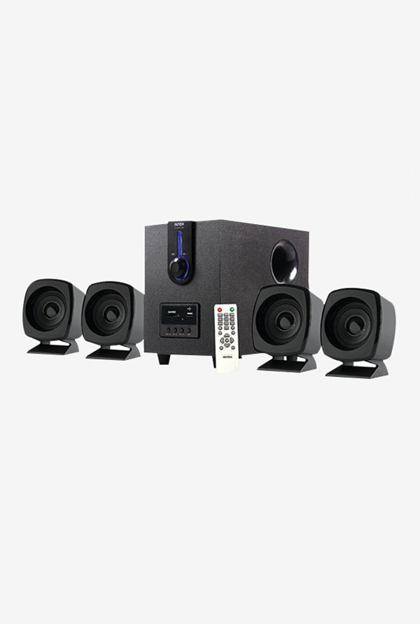 Intex IT 2616 4.1 Multimedia Speaker (Black)