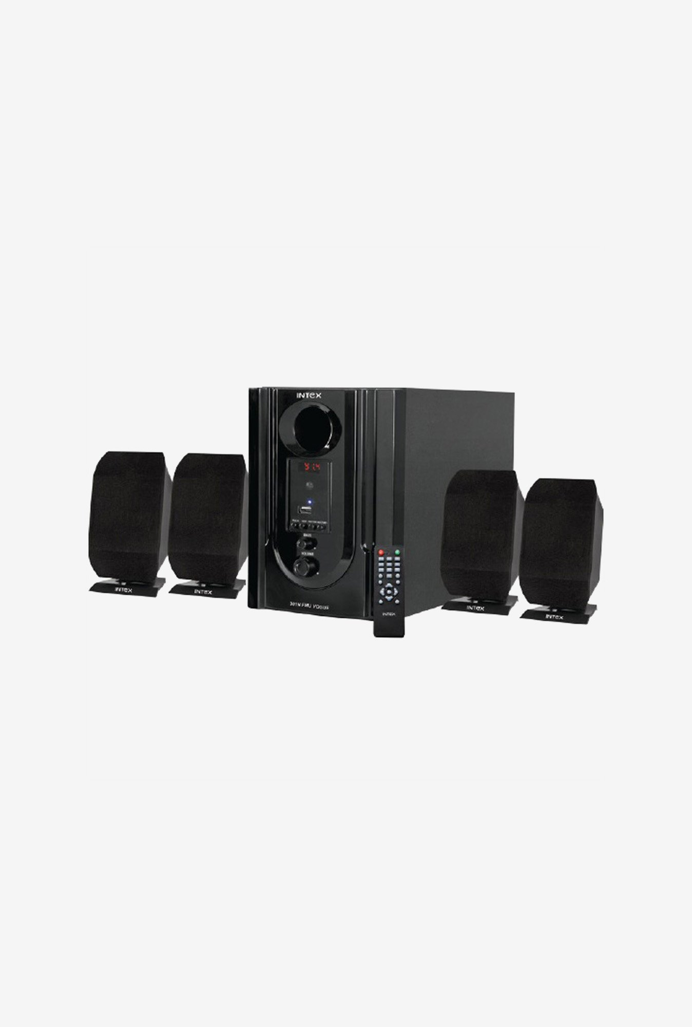Intex IT-301 N FMU OS Multimedia Speaker Black