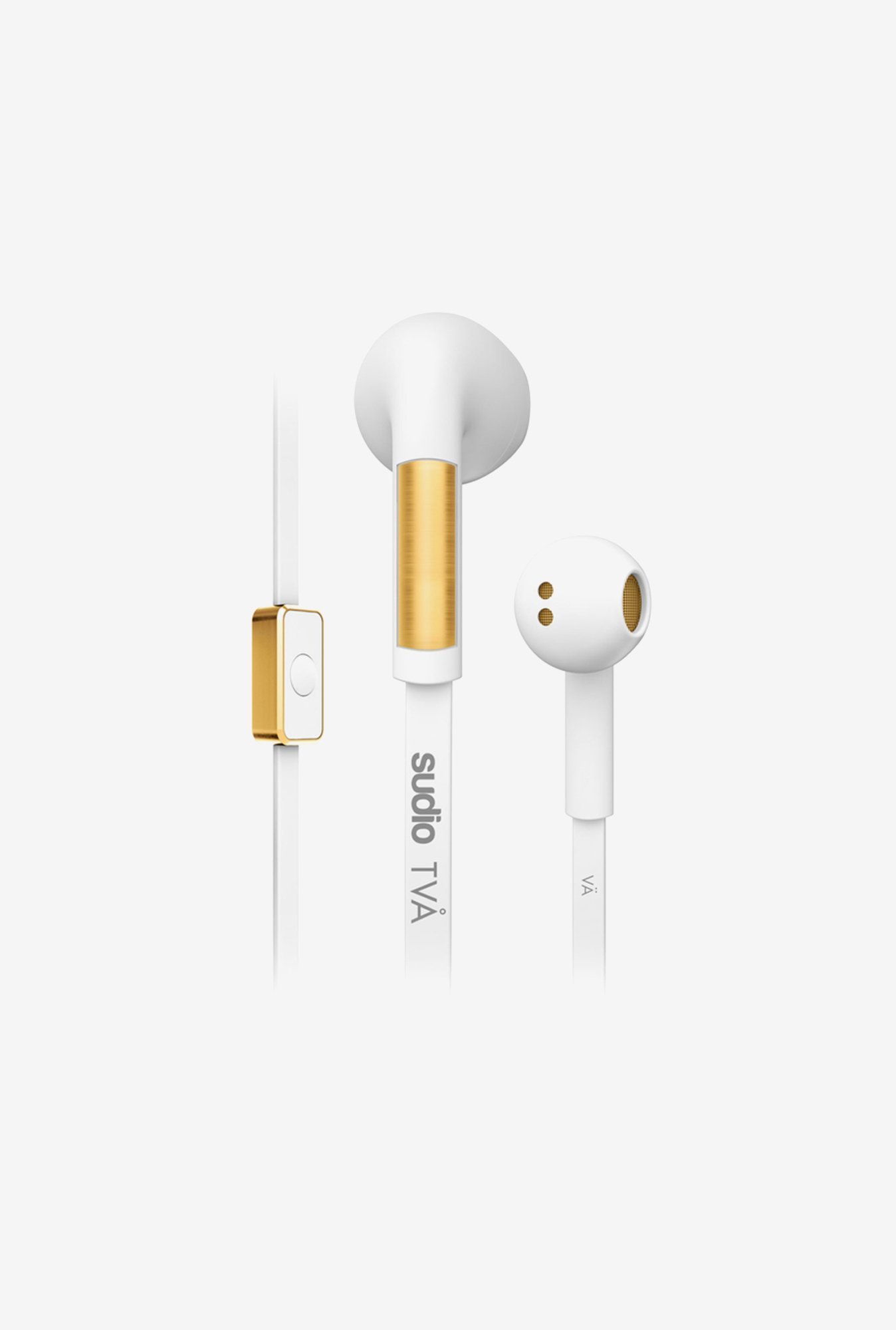 Sudio Tva In the Ear Headphone White
