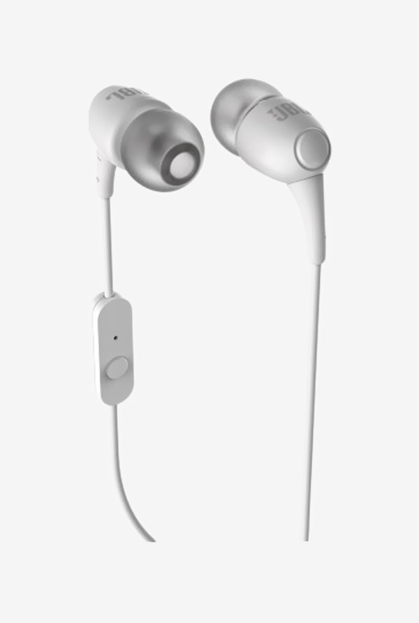 JBL T150A In-ear Headphones White