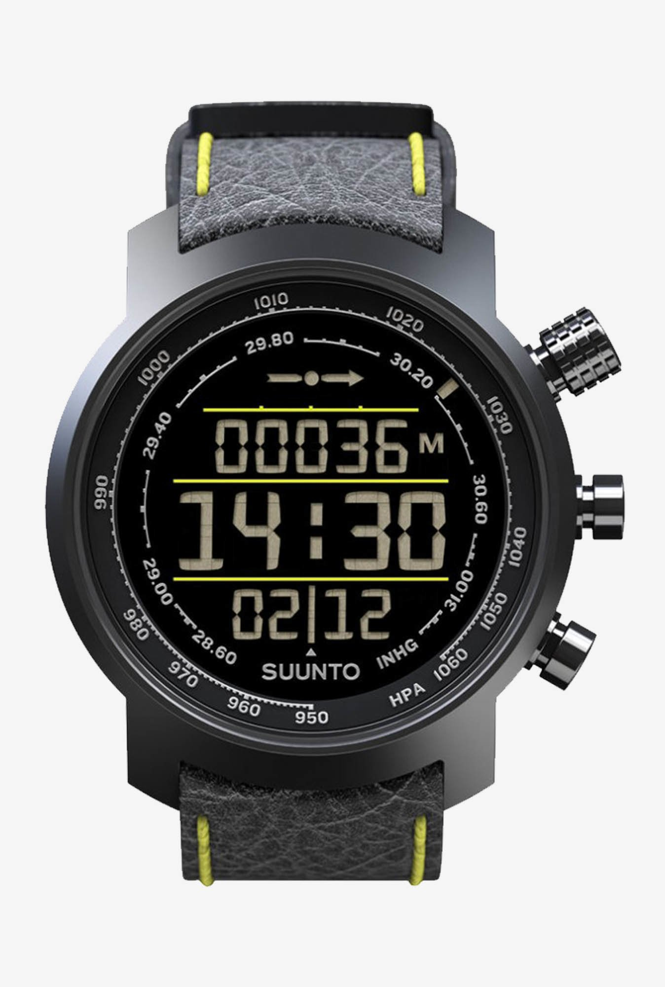 SUUNTO Elementum Terra Smart Watch Black & Yellow
