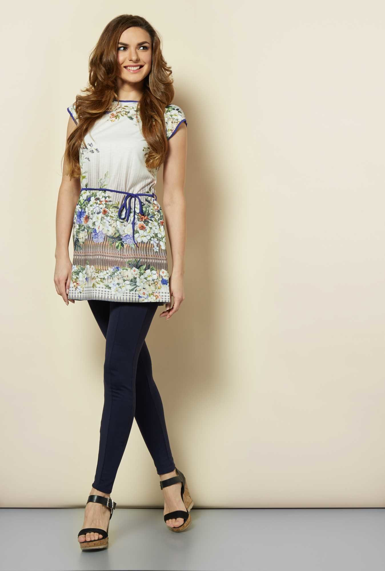 109 F Multicolor Printed Tunic