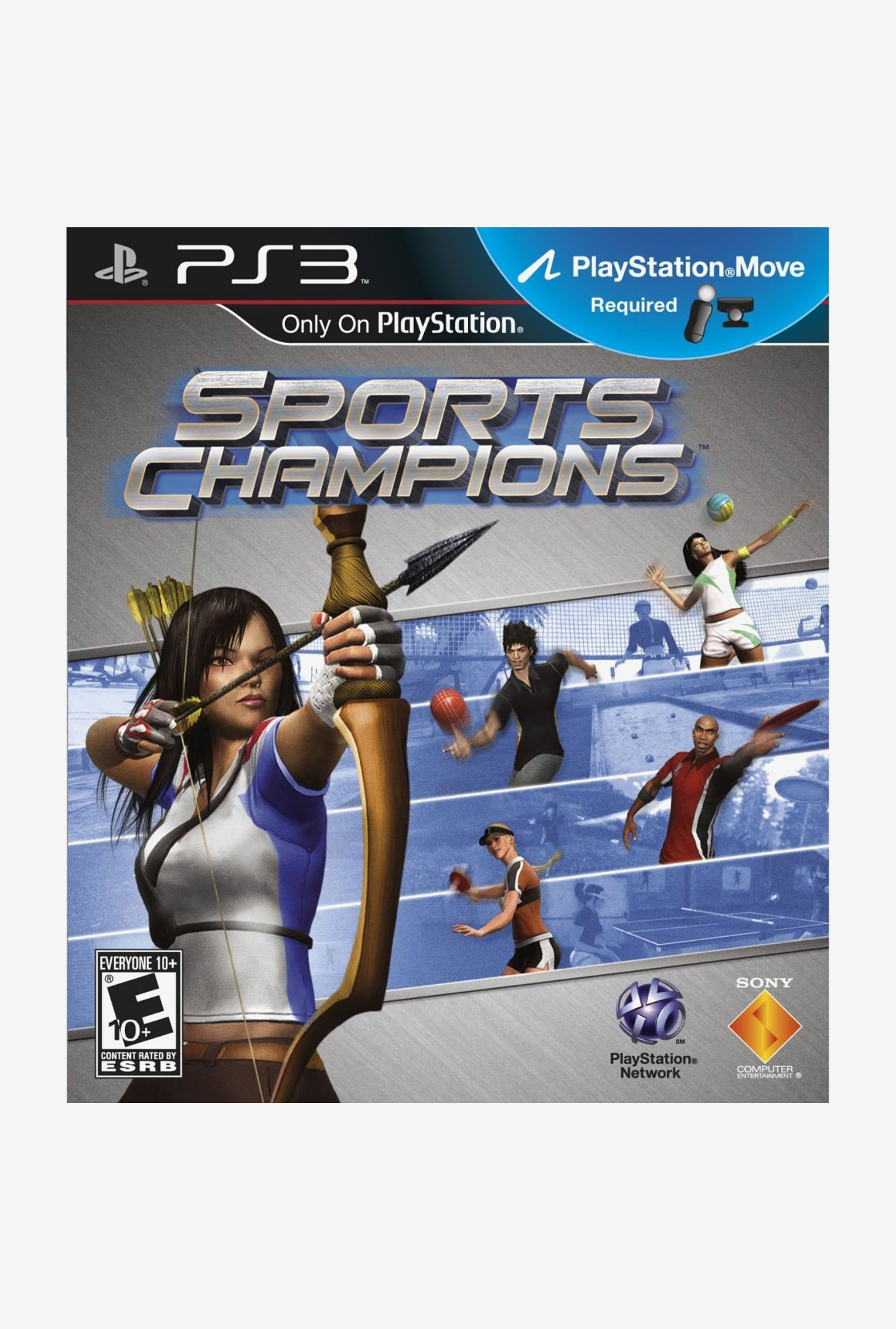 Sony Sports Champions (Move Required) (PS3)