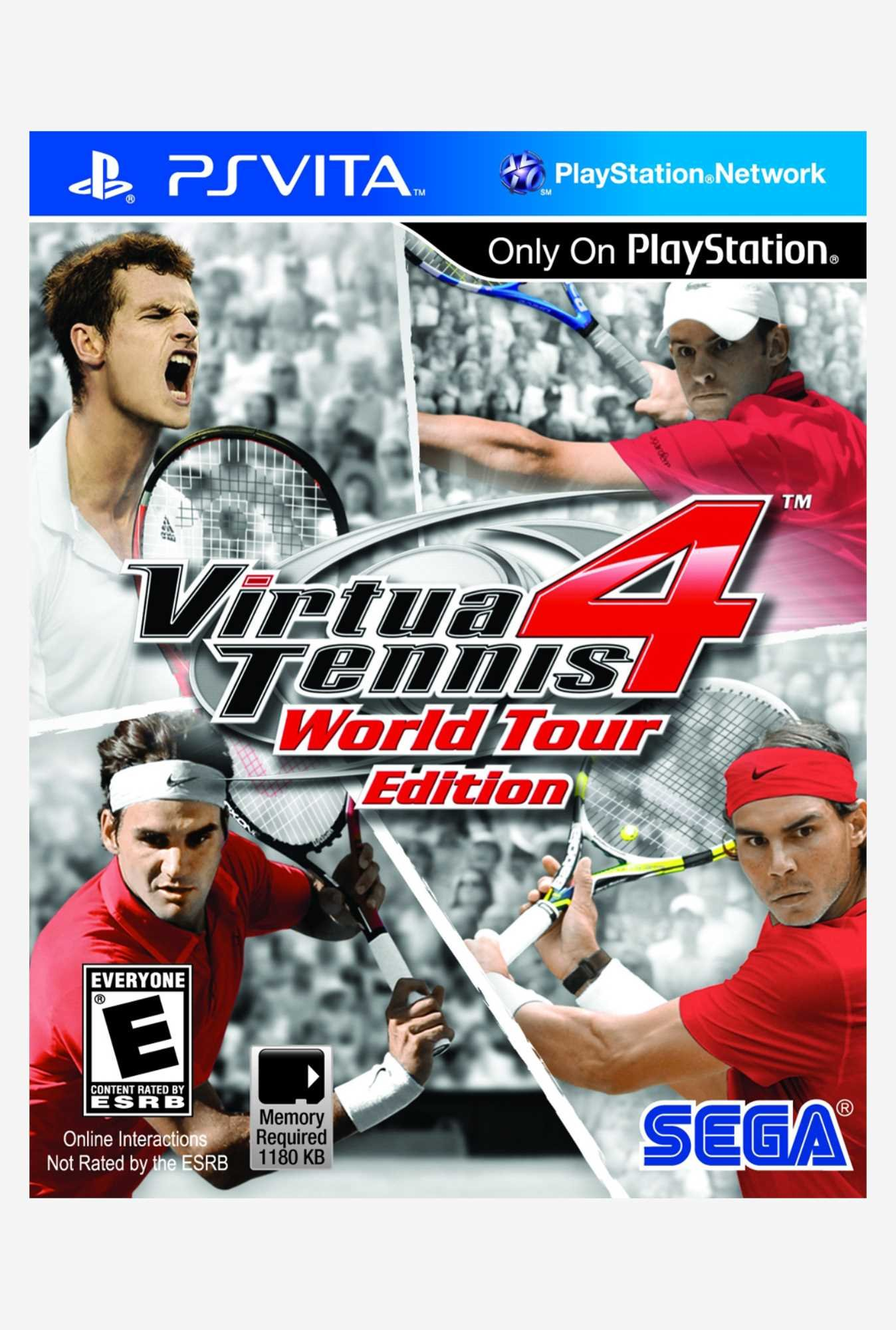 Sega Virtua Tennis 4 - World Tour Edition (PS Vita)