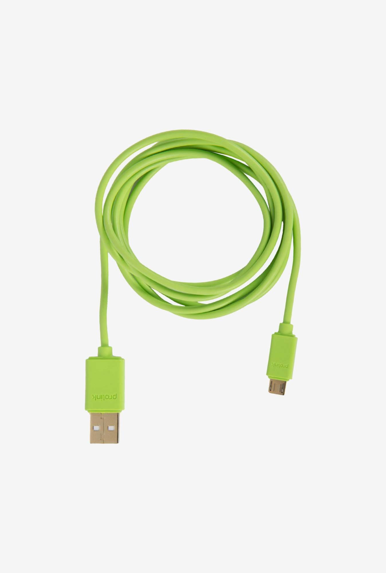 ULTRAPROLINK UL487GRN-0150 USB Cable Green