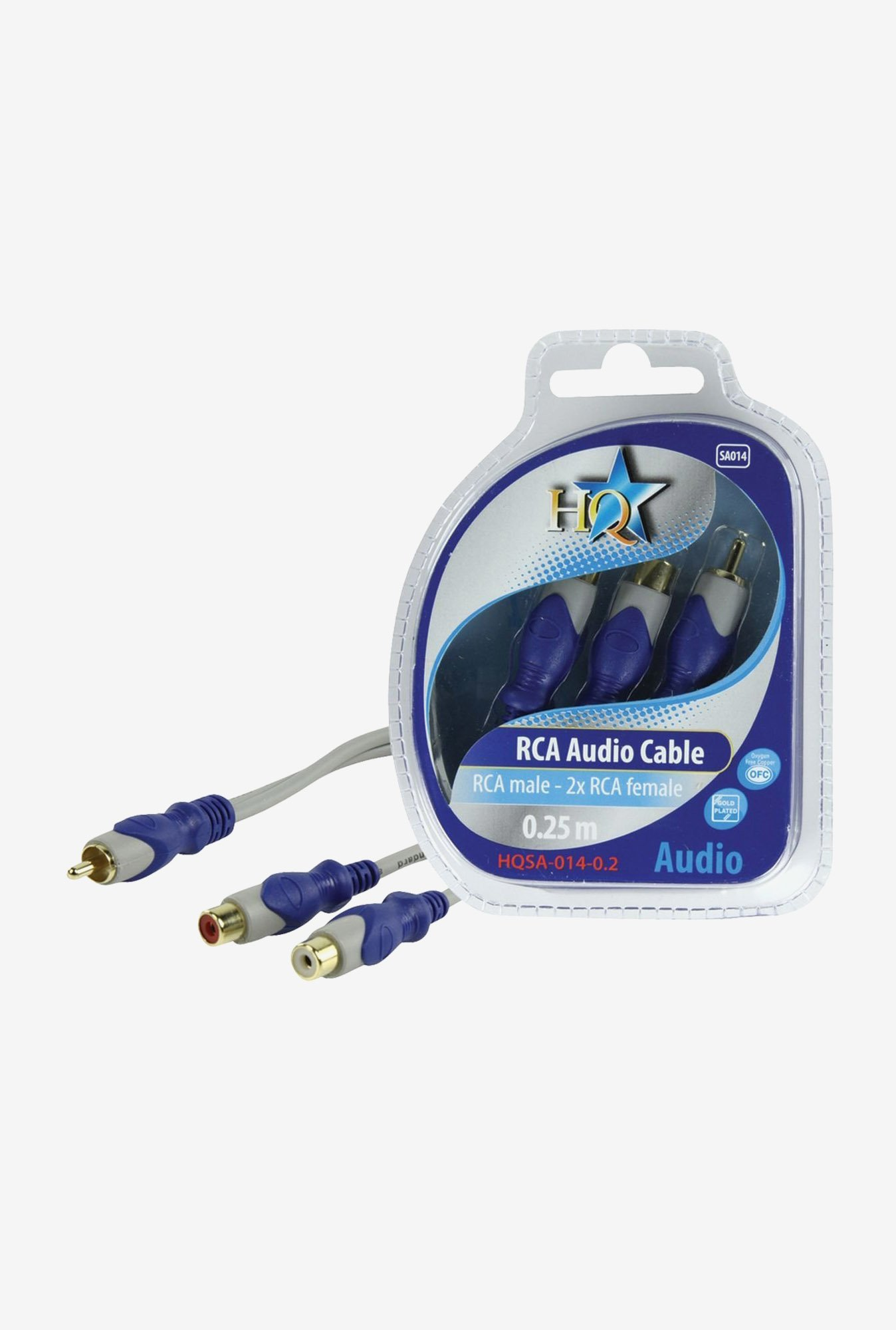 HQ HQSA014-0.2 Cable Blue