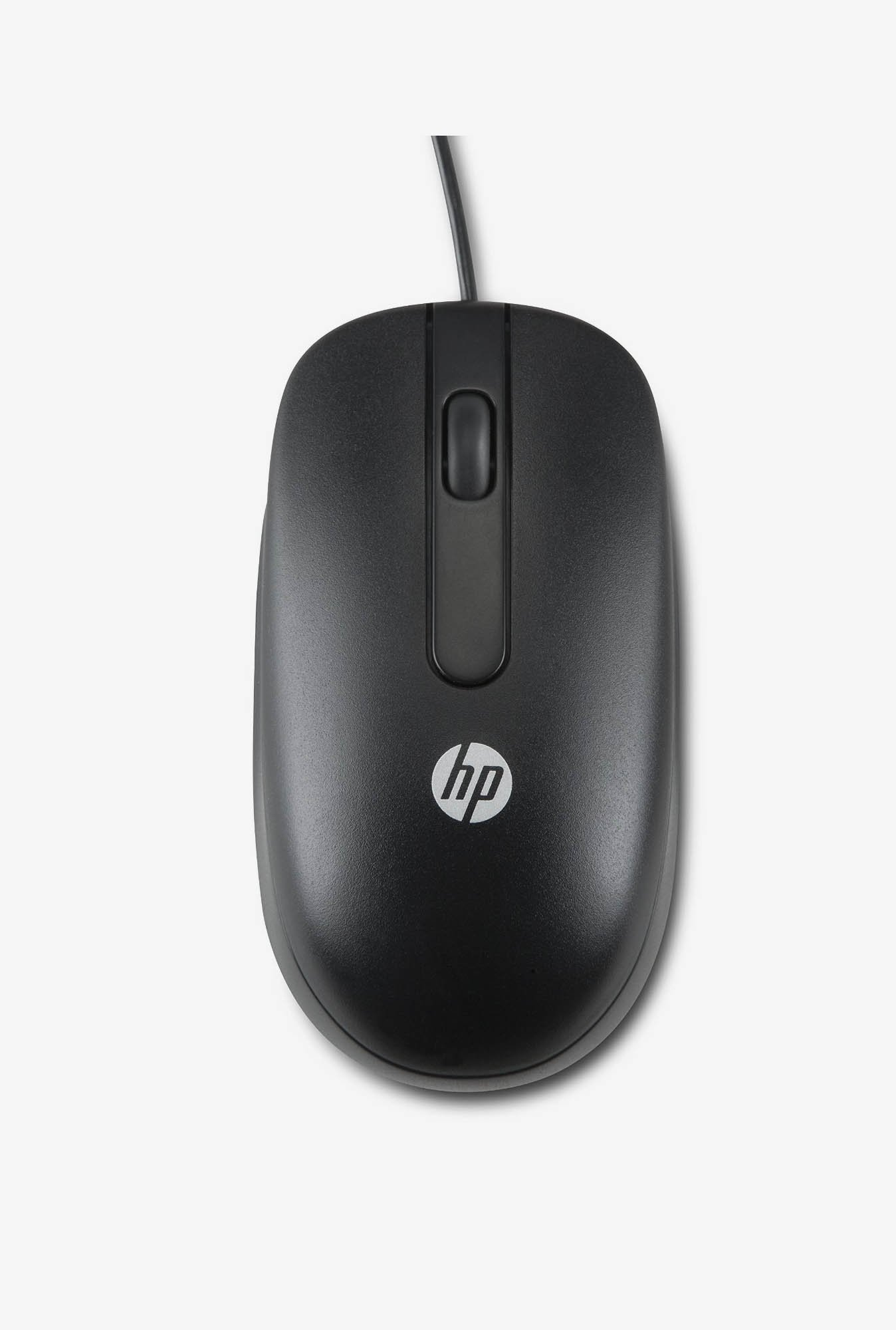 HP Wired QY777AA Optical Mouse Black