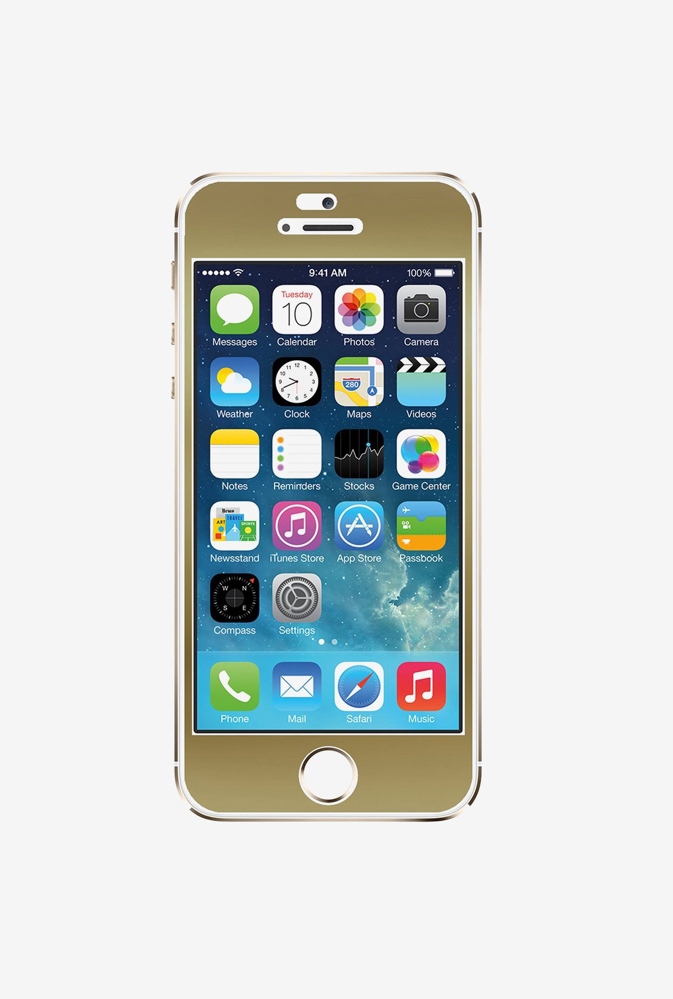 Agent 18 iPhone 5/5s/5c FRNT/G1 Front Film Gold