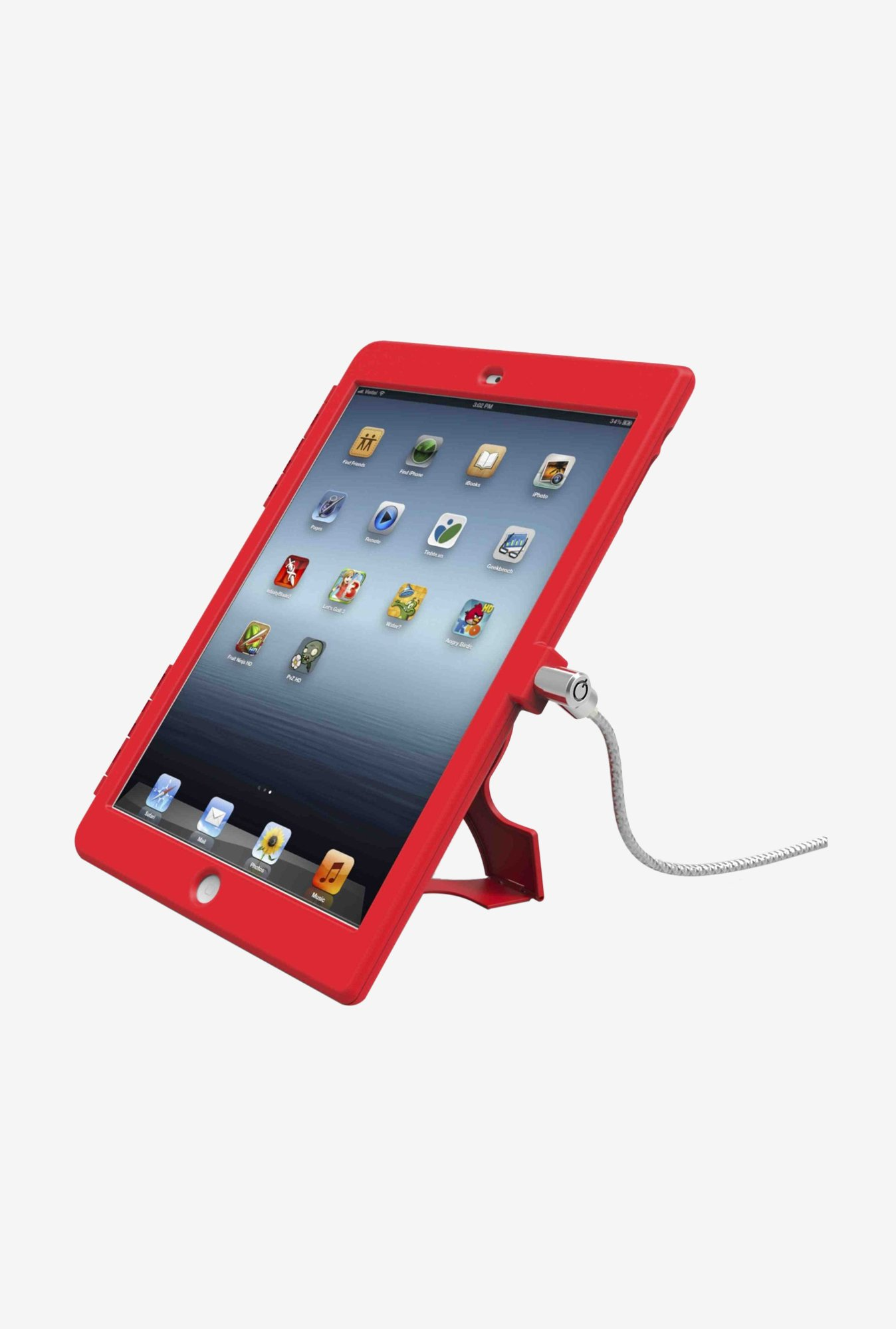 Maclocks iPad Air iPad Air RB Security Case Red
