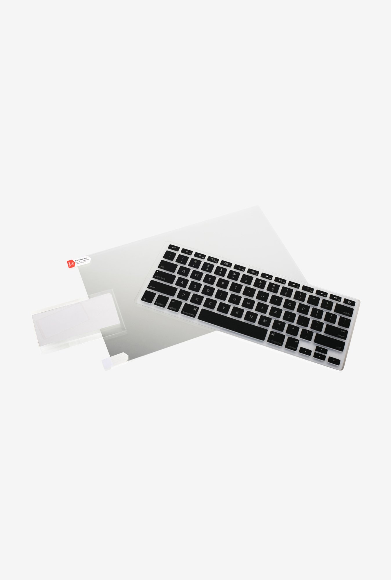 "Iogear 13"" Macbook GKSMA13 KBD Skin & Screen Protector Black"