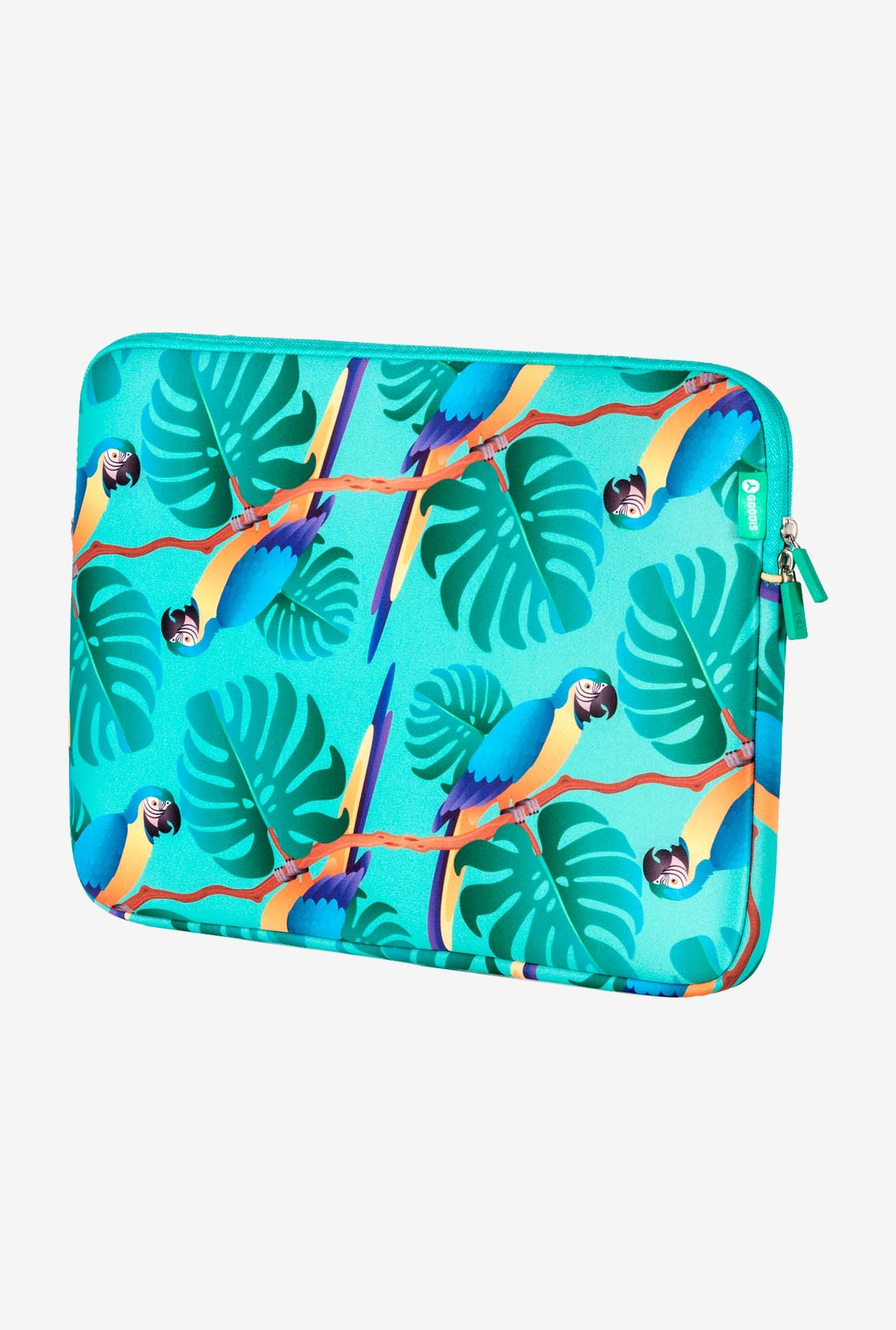 "GOODIS Parrots 5557517 Laptop 15.6"" Sleeve Parrots"