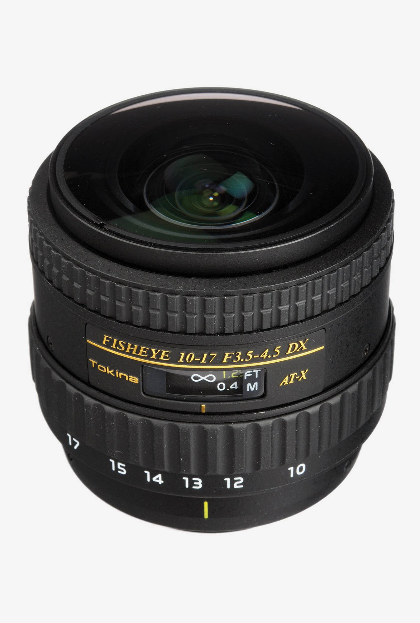 Tokina AF 10 - 17 mm f/3.5 - 4.5 AT-X 107 AF DX NH Fisheye Lens for Nikon Digital SLR
