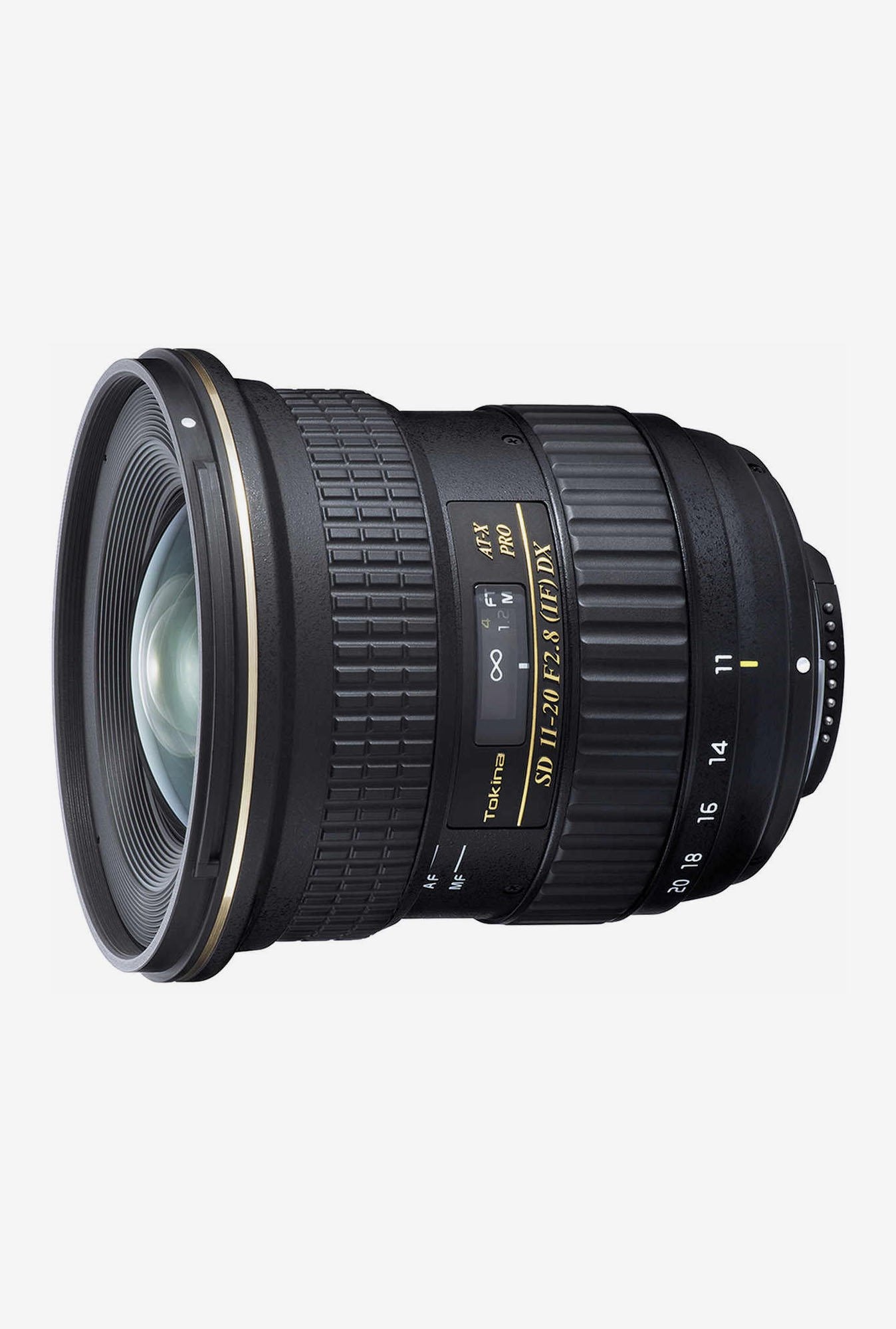 Tokina At-X 11-20mm F/2.8 Pro Dx Lens For Nikon Digital SLR