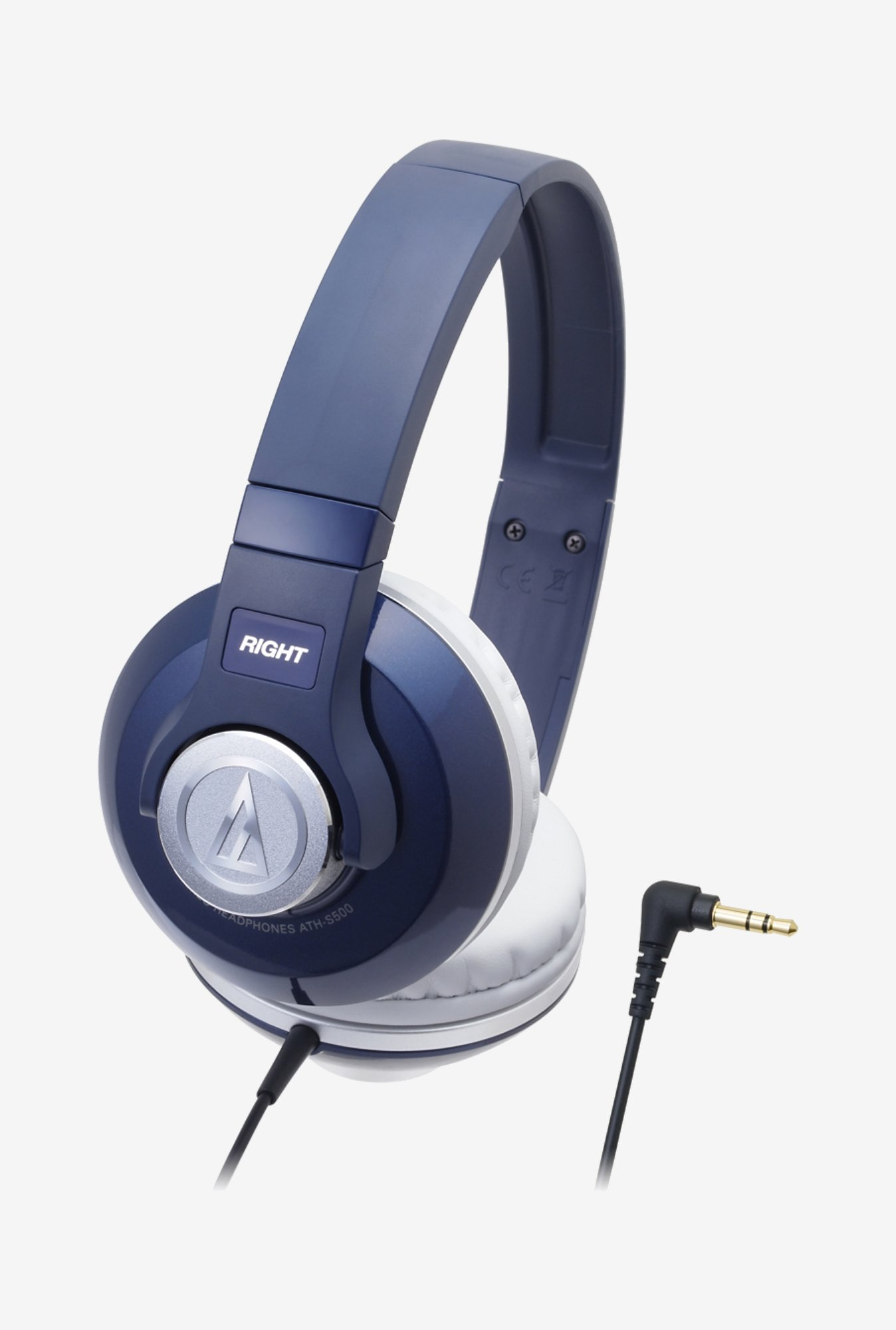 Audio-Technica Street ATH-S500 On The Ear Headphone Navy