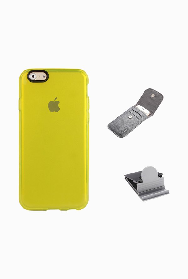 Stuffcool ACIP647 Back Case for Apple iPhone 6 Yellow